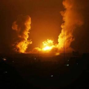 22 août 2016: 50 raids israéliens sur Gaza : une nuit très difficile pour les habitants de Gaza