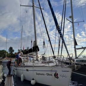 Le bateau des femmes pour Gaza est arrivé à Messine en Italie