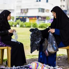 Les femmes de Gaza transforment le recyclage en un art