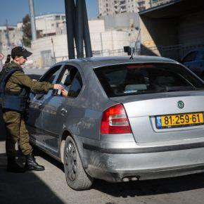 Conduire, quand on est Palestinien, à travers la ligne verte