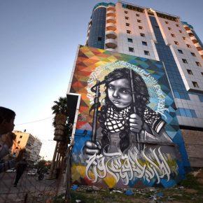 L'angoisse et la colère sur les murs de Gaza