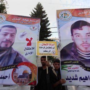 Deux prisonniers palestiniens entament leur troisième mois de grève de la faim