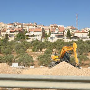 Israël construit des zones industrielles pour étendre son contrôle de la Cisjordanie