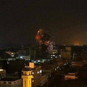 19 raids israéliens sur Gaza le 7 février dernier