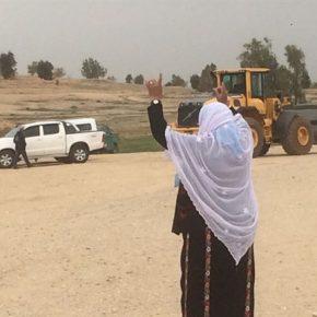 Les forces israéliennes démolissent le village bédouin al-Araqib pour la 110ème fois