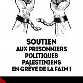 AGENDA: Rassemblements de soutiens aux prisonniers palestiniens en France
