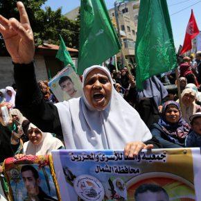 Les Palestiniens lancent une grève de la faim massive