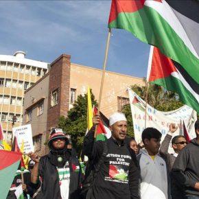 La grève de la faim des Palestiniens déclenche une campagne sud-africaine