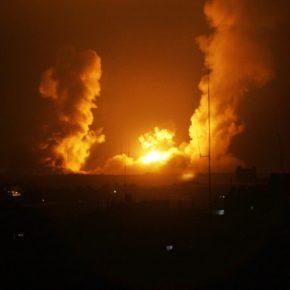 En direct de Gaza:  Six raids israéliens sur la bande de Gaza
