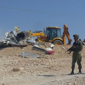 Les forces israéliennes démolissent des maisons financées par l'UE dans un village bédouin du sud de la Cisjordanie