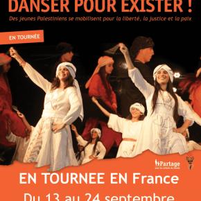 Spectacle de la troupe palestinienne IBDAA les 15 et 22 septembre à Paris