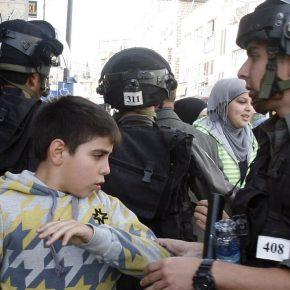 Israël a arrêté 33 enfants palestiniens en septembre