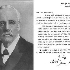 La vision du monde raciste d'Arthur Balfour