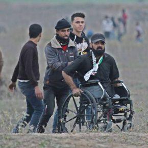 Deux morts et cent blessés dans la bande de Gaza vendredi 15 décembre 2017 : Quand l'armée d'occupation tue les handicapés à Gaza