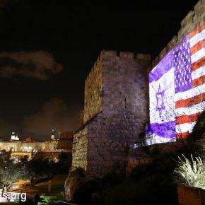 PHOTOS: Comment les deux Jérusalem ont marqué le discours de Trump sur l'ambassade