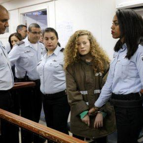 Appel à action : Agissons pour libérer Ahed Tamimi et tous les prisonniers politiques palestiniens!