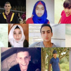 Voici les enfants qu'Israël a tués en 2017