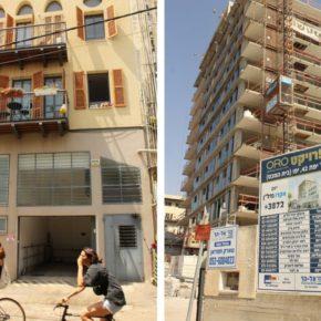 La violence coloniale et d'embourgeoisement de l'architecture à Jaffa