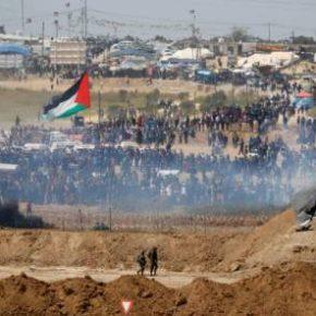 En Direct de Gaza : 2 morts et 900 blessés dans la bande de Gaza-bilan provisoire- Ce vendredi 13 avril 2018 : Le vendredi des drapeaux palestiniens