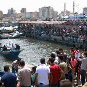 Une Flottille emmenant des blessés de Gaza rompt le siège «insupportable»
