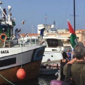 Suivez la flottille de la Liberté 2018 partie aujourd'hui de Palerme sans escale pour Gaza ! Soutenez la flottille !