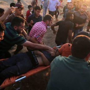 """En Direct de Gaza:  3 morts et 240 blessés dans la bande de Gaza-bilan provisoire-: Ce vendredi 14 septembre 2018: """"La résistance est notre choix"""""""