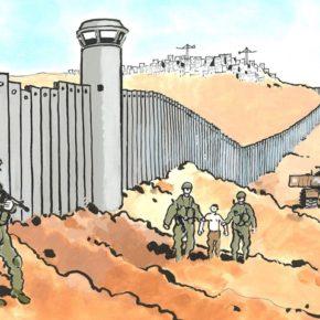 Mur de l'apartheid: Un nouveau visuel de Tardi