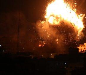 En direct de Gaza Il est 22h à Gaza - Trois morts et 7 blessés jusqu'à présent, 150 raids israéliens partout dans la bande de Gaza ce lundi 12 novembre 2018