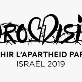 Pétition européenne: Non à l'Eurovision 2019 en Israël !