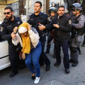 Israël a arrêté 5 600 Palestiniens en un an depuis la décision de Trump sur Jérusalem