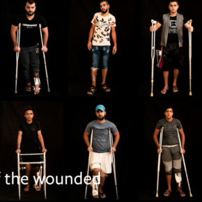 Portraitsdes blessés
