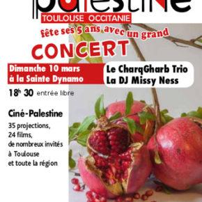 5eédition de Ciné-Palestine Toulouse Occitanie - 10 au 19 mars 2019