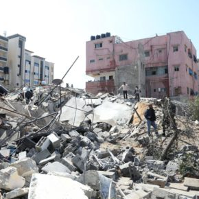 A quelques semaines des élections, Israël bombarde Gaza