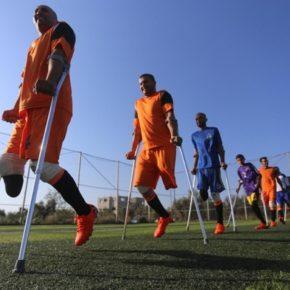 Soutenez une rencontre sportive France/Palestine de footballeurs amputés