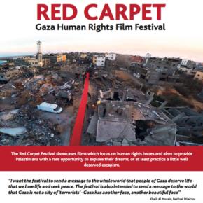Soutien au « Festival du Tapis Rouge » de Gaza