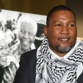Le petit fils de Nelson Mandela fustige « l'apartheid israélien »