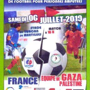 A Martigues, le 6 juillet, un évènement sportif exceptionnel en solidarité avec  le peuple Palestinien