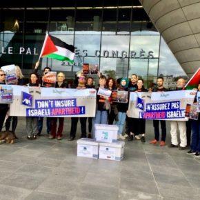 L'assureur AXA aide à tuer les Palestiniens et à voler leur terre