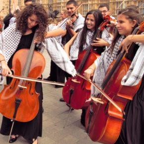 Des jeunes musiciens palestiniens défient le «système d'oppression»