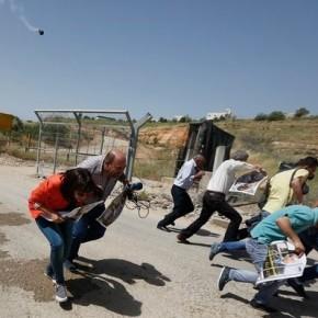 Hausse de 17% des abus d'Israël contre les journalistes dans les territoires occupés, pendant la première moitié de l'année 2016