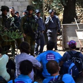 Des militants juifs et palestiniens essaient de construire un cinéma à Hébron