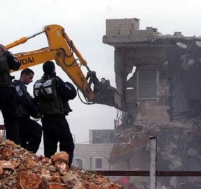 478 bâtiments palestiniens détruits par Israël cette année