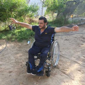 Le médaillé paralympique Hossam Azzum prêt à repartir, de Gaza à Rio
